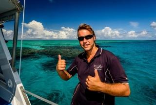 Townsville Magnetic Island Great Barrier Reef Snorkeler Snorkel Dive Day Trip
