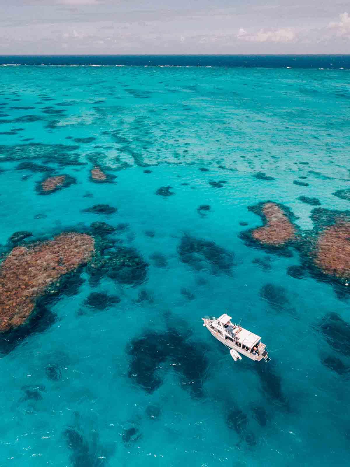 MV Adrenalin anchored at Lodestone Reef