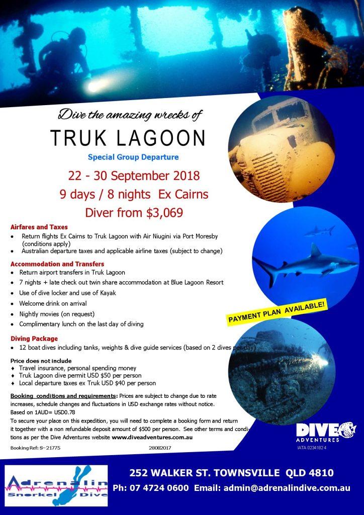 Truk Lagoon Dive Trip 2018