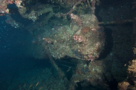 SS Yongala Wreck Townsville Magnetic Island SCUBA Dive Day Trip Engine Room