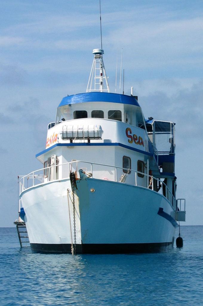 SeaEsta liveaboard dive Great Barrier Reef